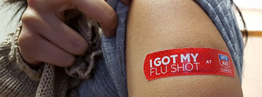 A patient who recently received a flu shot.