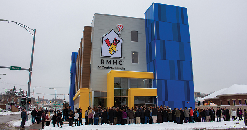 The grand opening of Peoria's new Ronald McDonald House