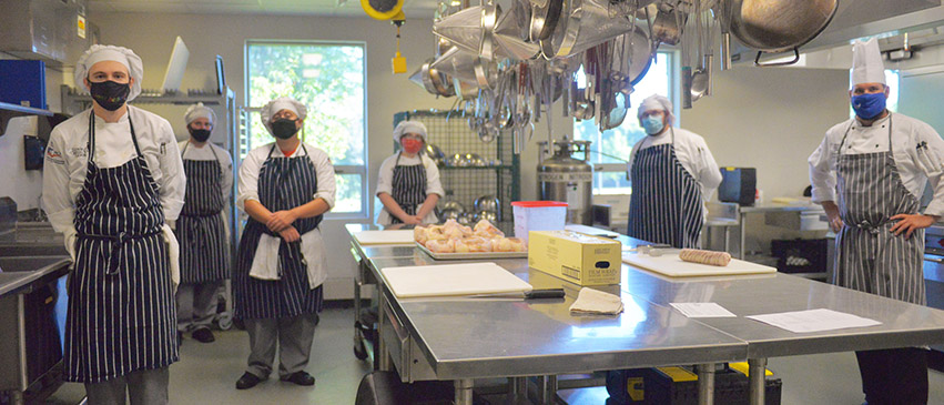 ICC Culinary Arts students are learning the skills needed to work in a professional kitchen.