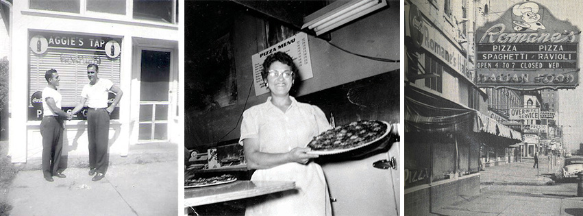 Historic photos of pizza places around Peoria