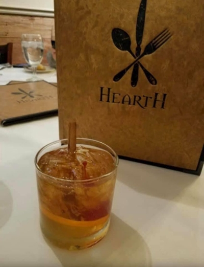Cocktails at Hearth