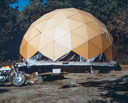 In 1972, the Ericksens designed and built a geodesic dome on their property in Washburn as a prototype for affordable housing. They lived in the dome for five years, and today it still serves as the office for the Sun Foundation.