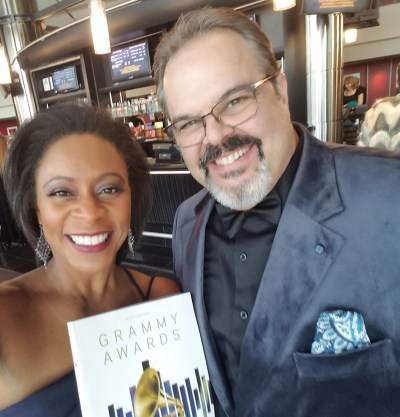 Greg and Yvonne at the 2019 Grammy Awards