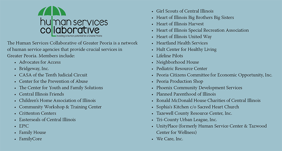 Human Services Collaborative members