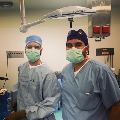 Drs. Clayton Theleman and Steven Tsoraides