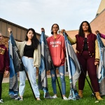 Danielle Gantt, 17 years old,  Dunlap High School: The photo that I am submitting shows how there is a difference in height, skin color, size, shape, personality, style in all different types of people. Like it shows in the photo they are all holding a flag. They are flags for color guard which is something that we all share.