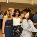 Manasi Kulkarni, 14 years old, Dunlap High School: This photo was taken at my middle school graduation. Three best friends, all from diverse backgrounds, sharing a special moment. I think this photo captures the spirit of diversity and inclusion in our schools.
