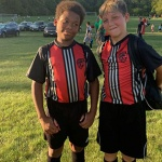 Elijah Edwards and Logan Vasquez, 10 years old, Germantown Hills Middle School: They both have a mixture of cultures and are best friends. They are teammates in multiple sports where they realize each of their unique qualities and differences come together to benefit the whole.