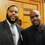 Andre W. Allen with 40 Leaders Alumnus Kyle Bright