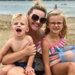 Erin Wood Miller and kids