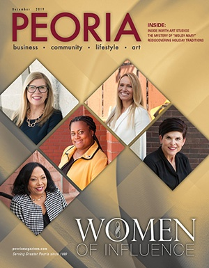 Peoria Magazine: December 2019 Cover