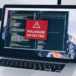 Devices not monitored by your company's IT security department may be at risk of malware infections.