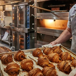 There are no timers in the kitchen at Ardor, just the senses and intuition of the baker.
