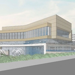 Rendering of the Comprehensive Cancer Center