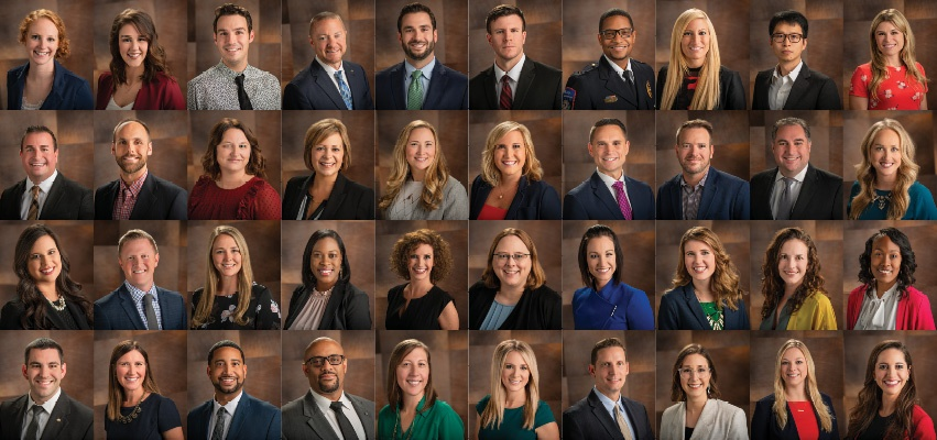 40 Leaders Under Forty composite photo.