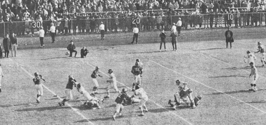 Central & Manual Turkey Day game, 1962.
