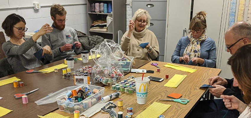 The Art Guild's revived educational offerings encompass classes for everything from paper making to metal embossing.