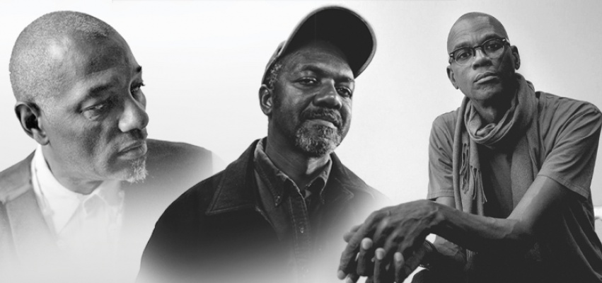 Left to right: Terry Adkins, Kerry James Marshall and Mark Bradford